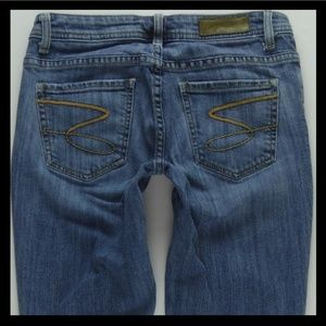 Seven7 Flare BootCut Low Rise Jeans Womens 28 #719
